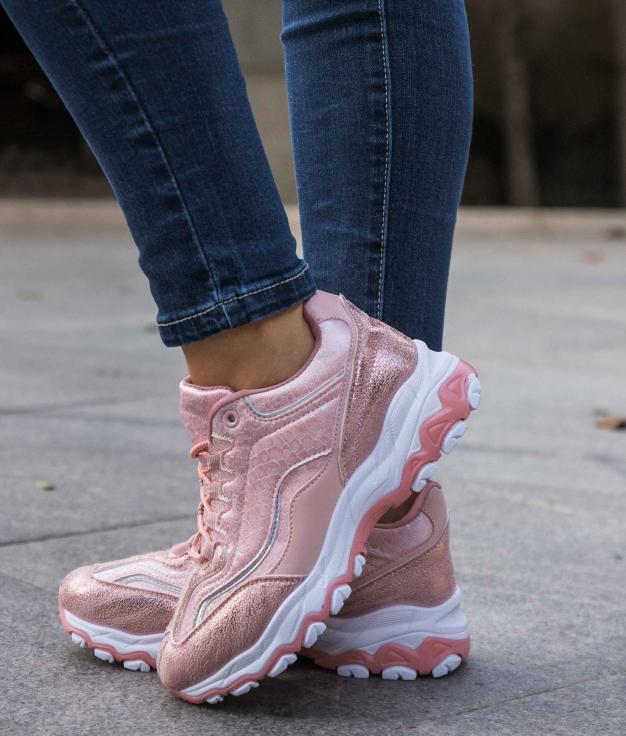 Sneakers Yembo - Rosa