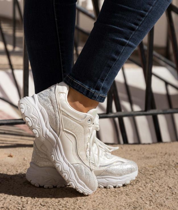 Sneakers Yembo - Bianco