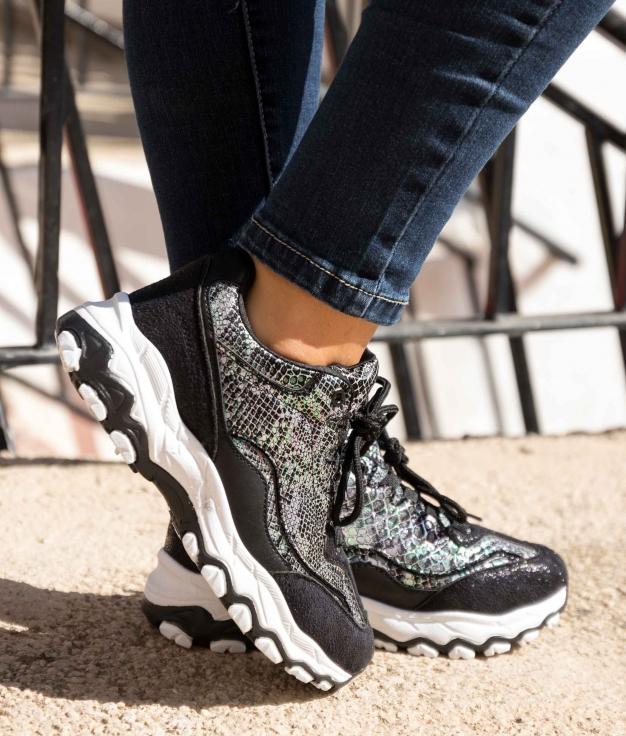 Sneakers Yembo - Negro