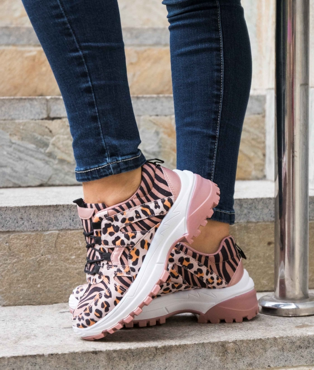 Sneakers Liujen - Rosa