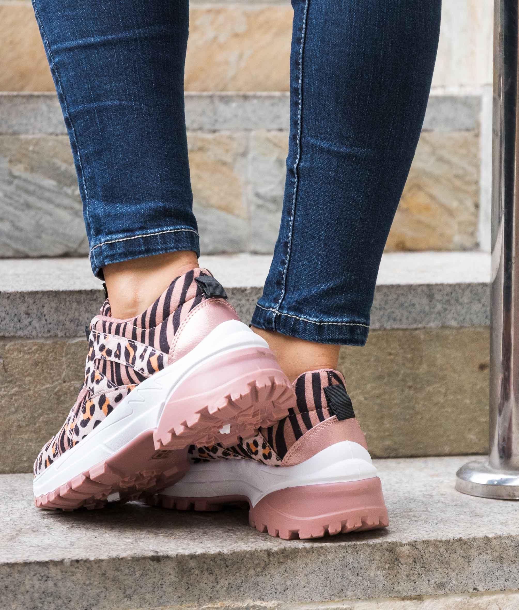 Sneakers Liujen - Rose