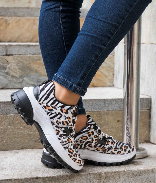 Sneakers Liujen - Bianco