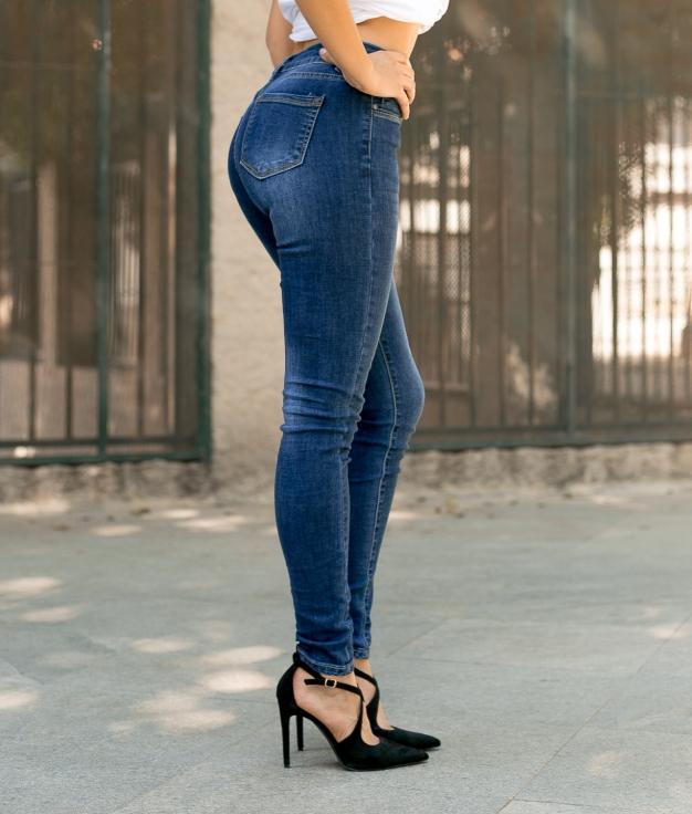 Pantalón Fridis - Denim