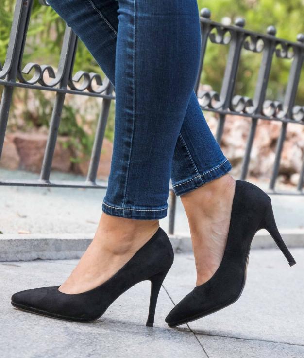 Zapato de Tacón Muris - Negro