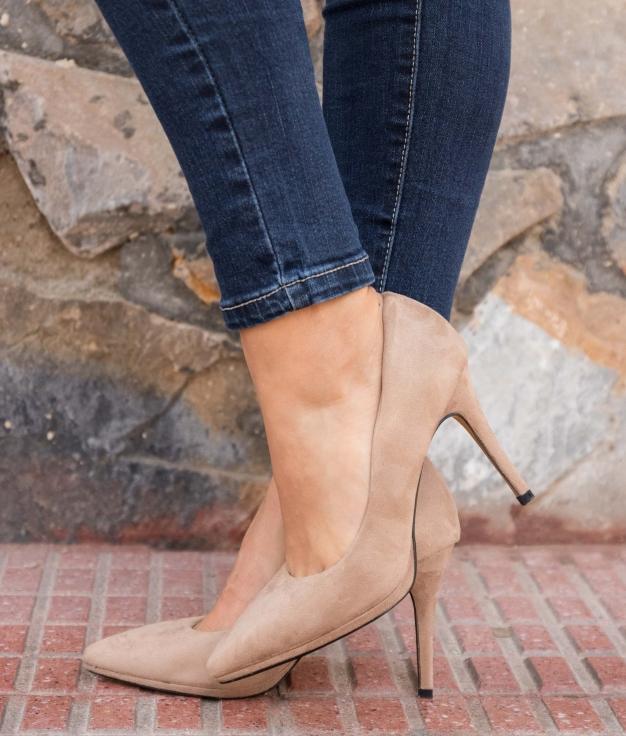 Zapato de Tacón Muris - Kaki