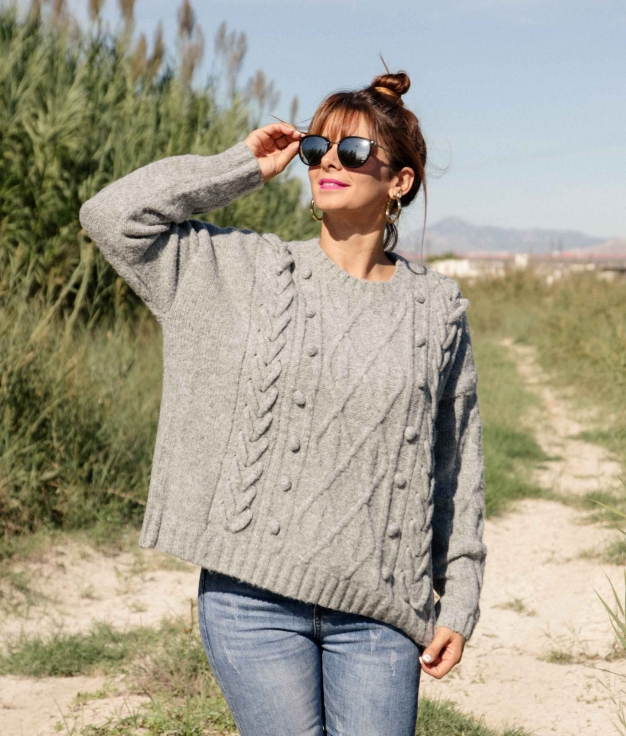 Sweater Doval - Grey