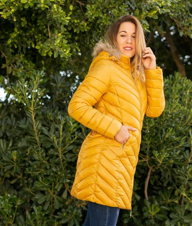 Manteau Siglar - Moutarde