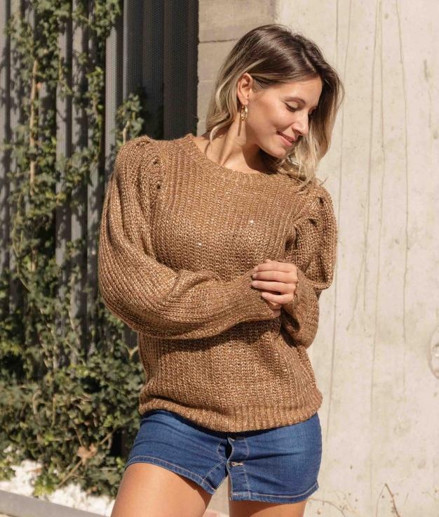 Sweater Liget - Brown