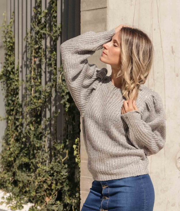 Sweater Liget - Grey