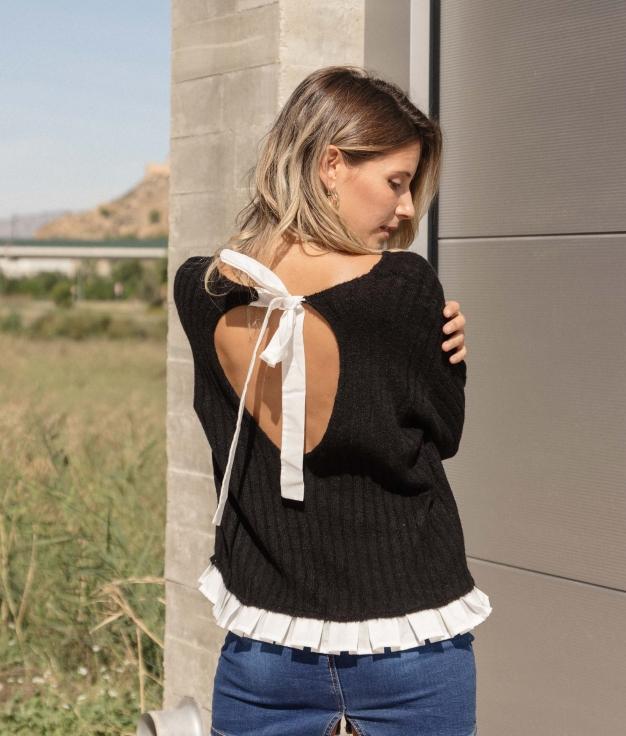 Sweater Laxe - Black
