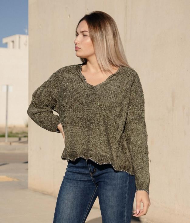 Sweater Flyt - Green