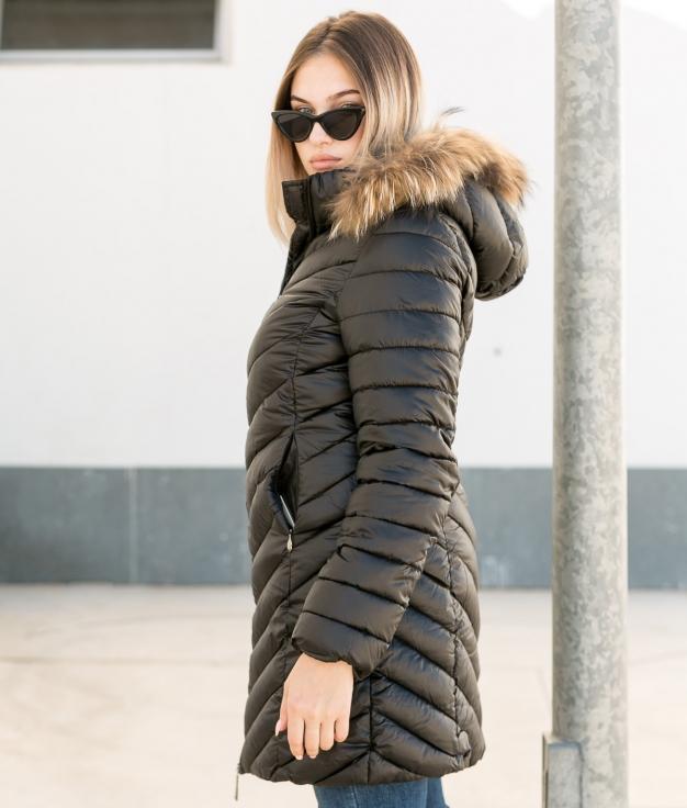 Manteau Siglar - Noir