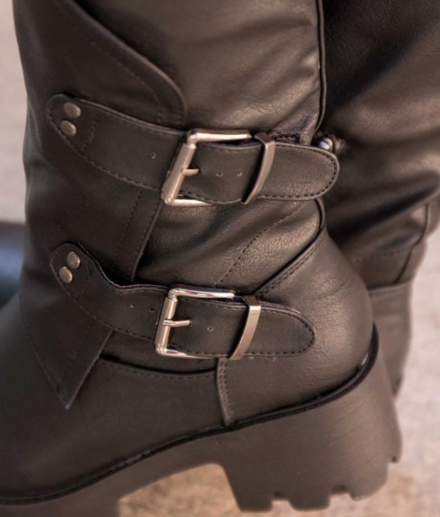 Knee-length Boot Chesu - Black
