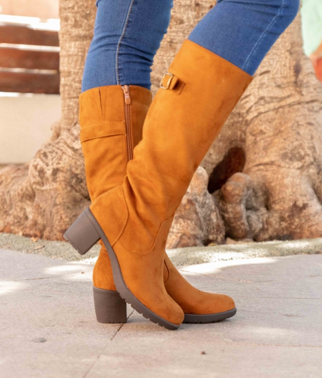 Knee-length Boot Rione - Camel