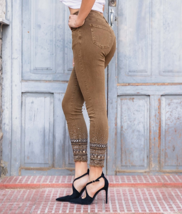 Pantalon Natasa - Chameau
