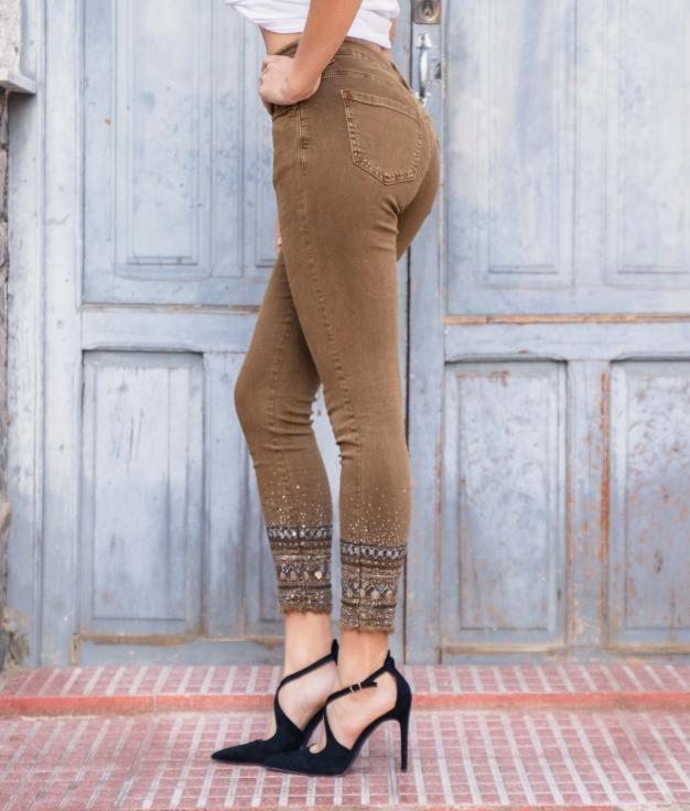 Pantaloni Natasa - Cammello