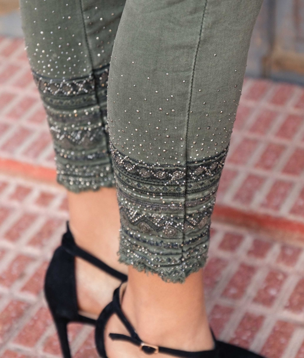Trousers Natasa - Khaki