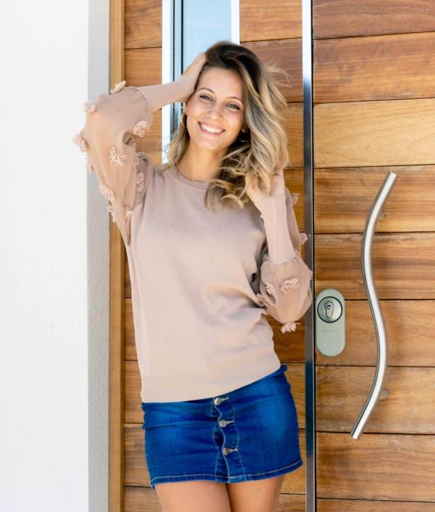 Sweater Vonax - Beige