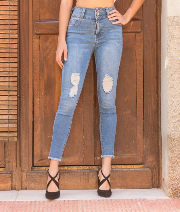 Trousers Nispa - Denim Light