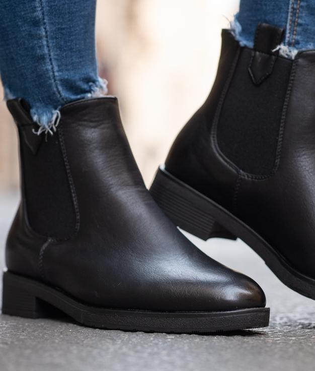 Low Boot Mercade - Black