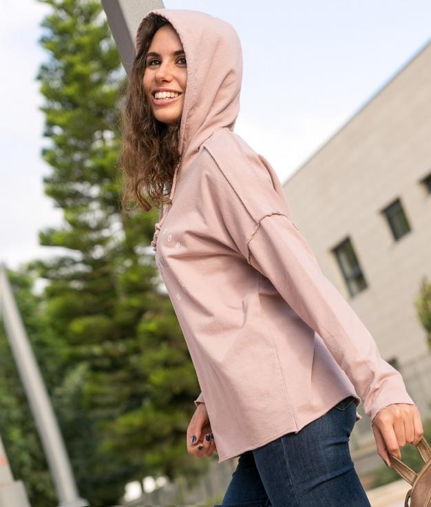 Sweatshirt Krispa - Pink