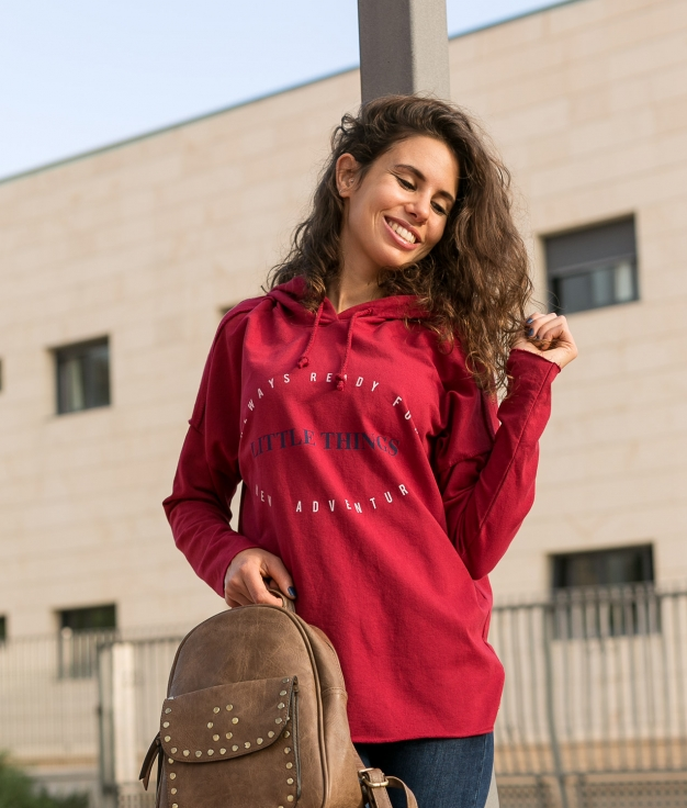 Sweatshirt Krispa - Maroon