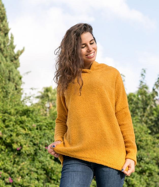 Sweatshirt Toms - Mustard