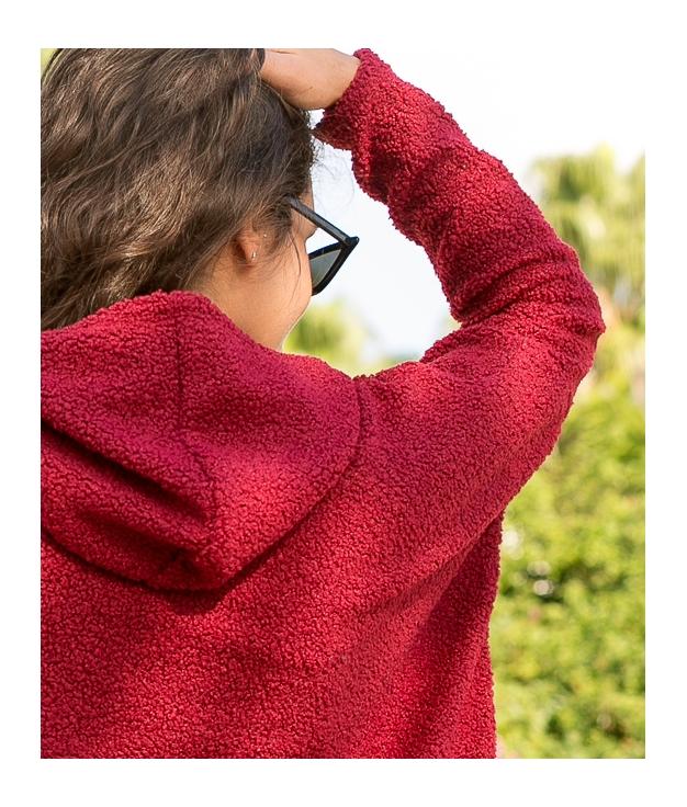 Sweatshirt Toms - Maroon