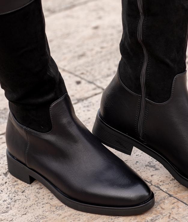 Knee-length Boot Siuri - Black