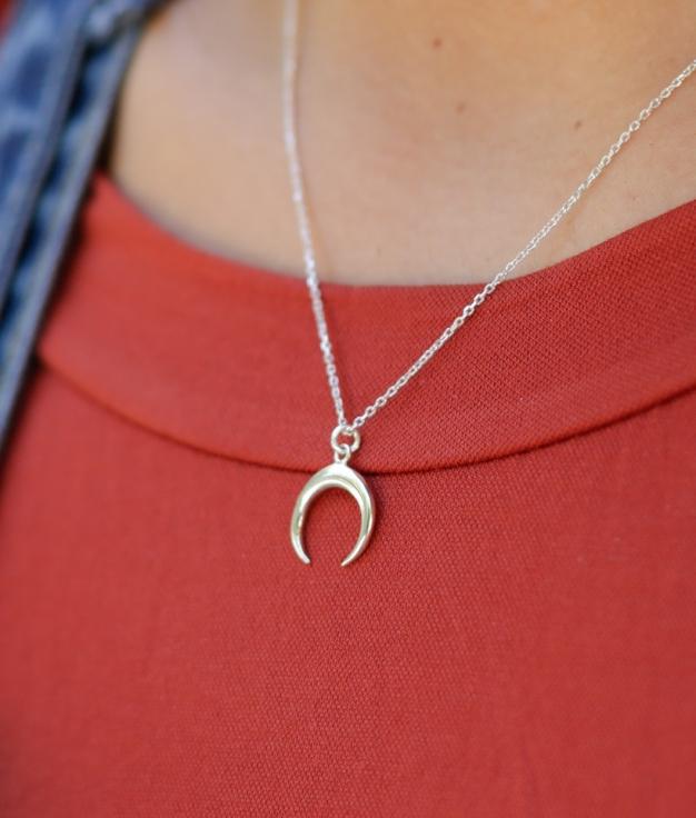 Necklace Miglun - Silver
