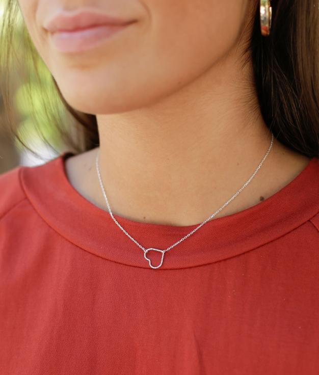 Necklace Jert - Silver