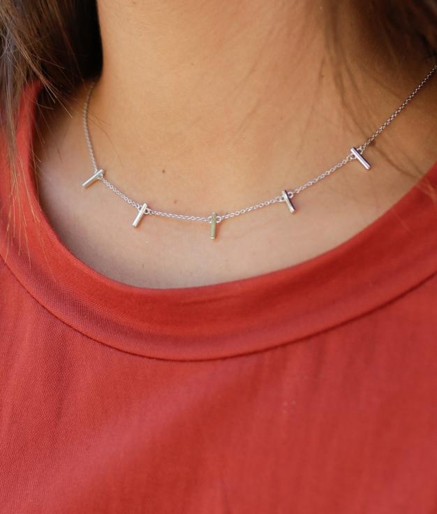 Necklace Triunf - Silver