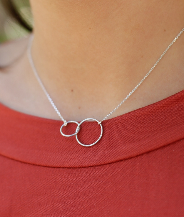 Necklace Opium - Silver