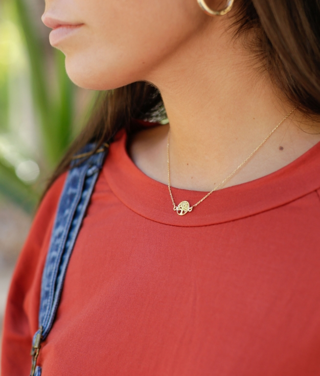 Necklace Treelife - Gold