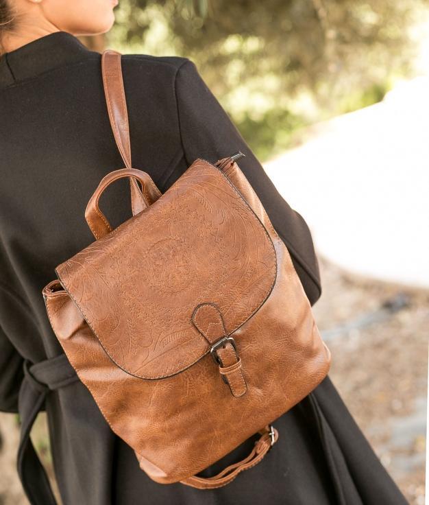 Backpack Yeska - Brown