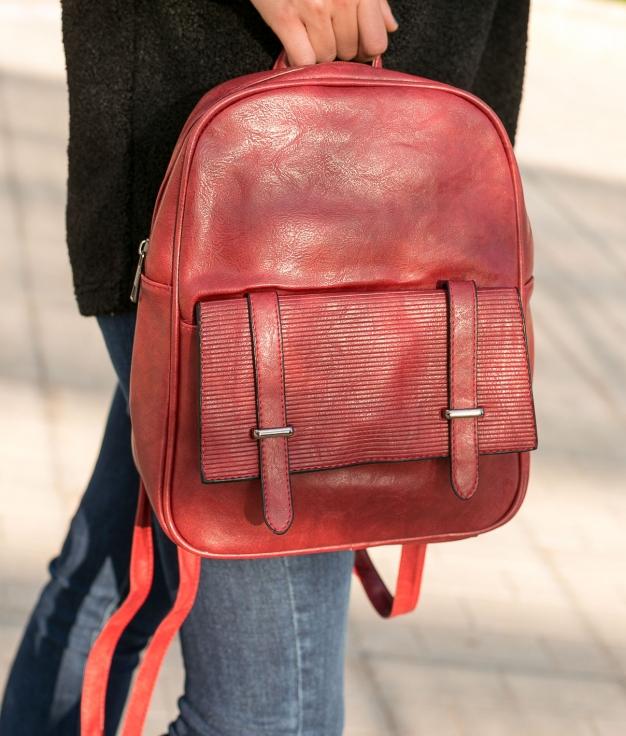 Backpack Faszer - Red