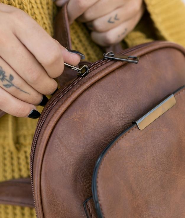 Backpack Rols - Brown