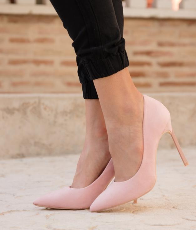 Zapato de Tacón Madison - Rosa