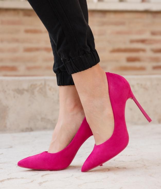 Zapato de Tacón Madison - Fucsia