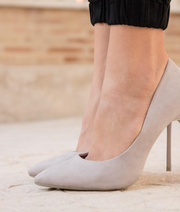 Zapato de Tacón Madison - Gris