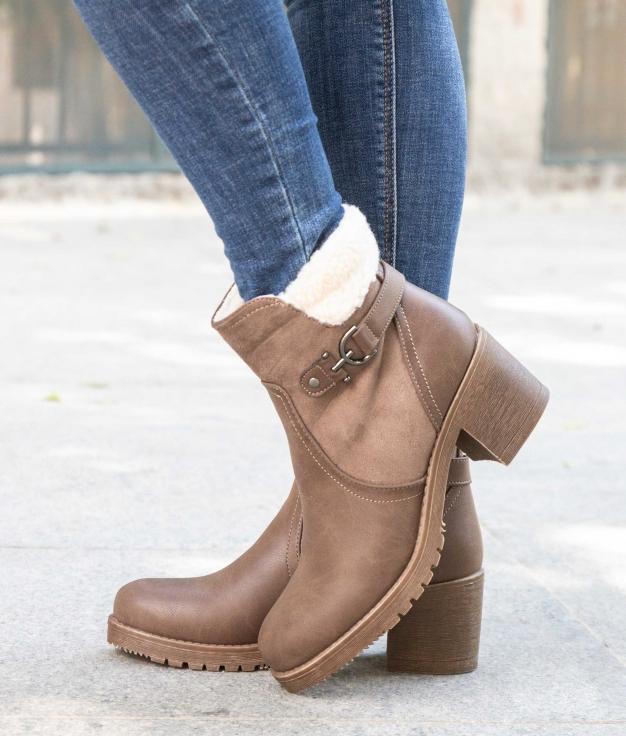 Low Boot Lesur - Khaki
