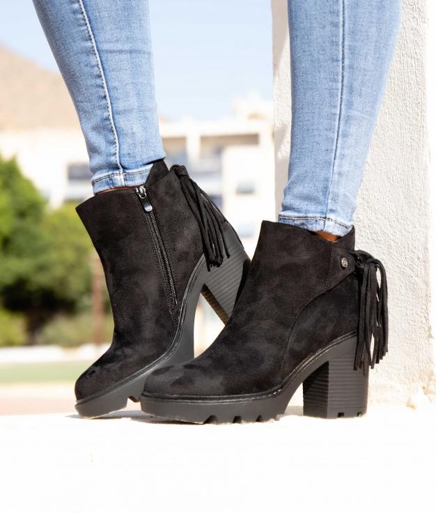 Low Boot Peram - Black