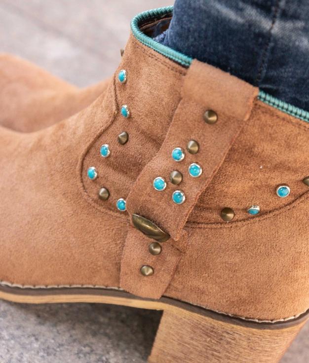 Boot Petite Calver - Chameau