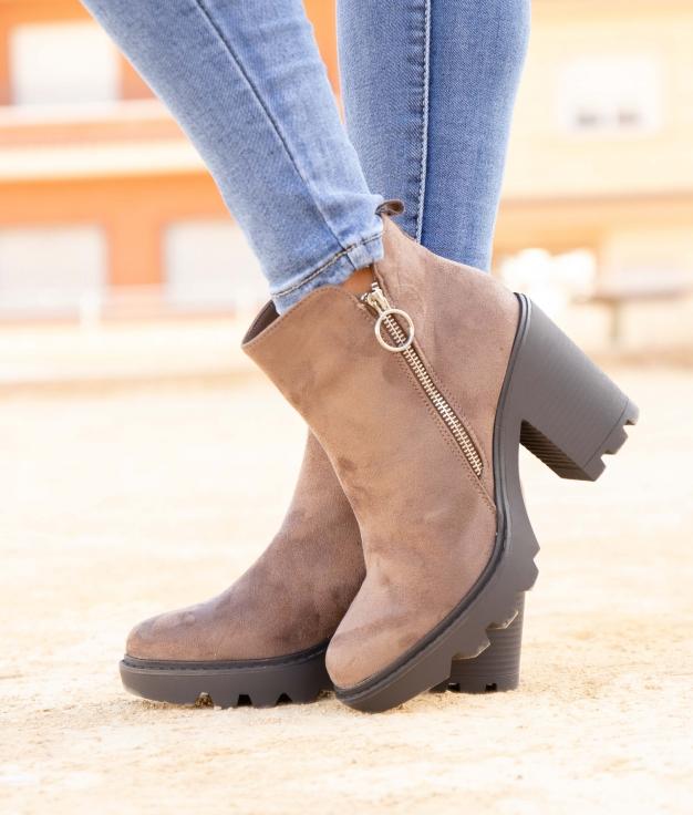 Low Boot Donse - Khaki