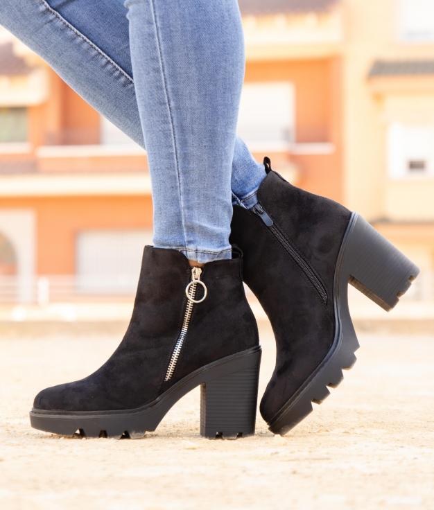 Low Boot Donse - Black