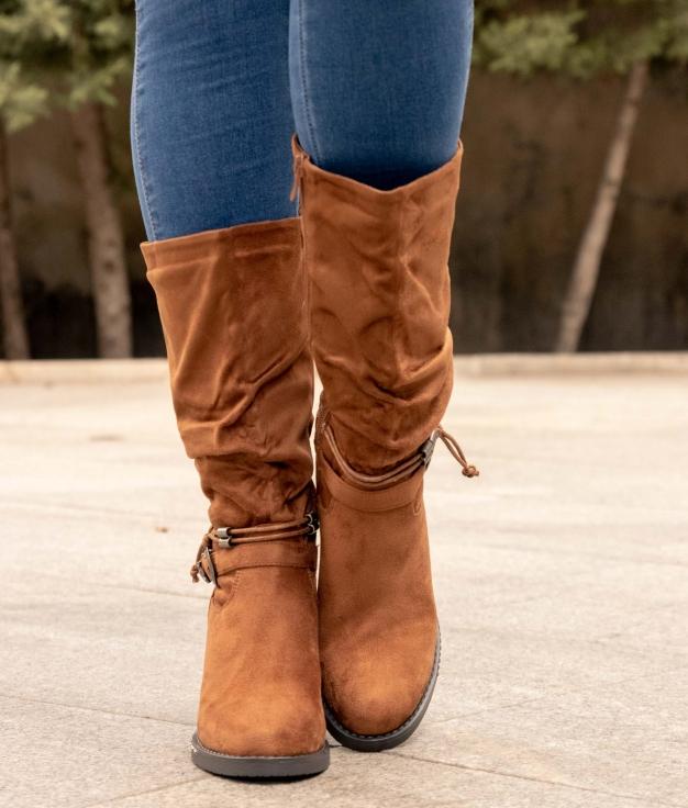Low Boot Naliz - Camel