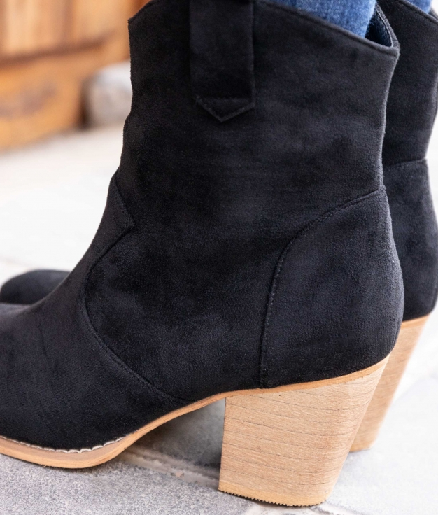 Low Boot Ryder - Black
