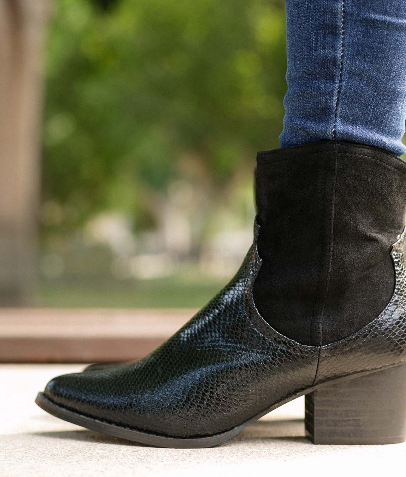 Low Boot Hanna - Black