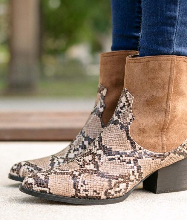 Low Boot Hanna - Camel