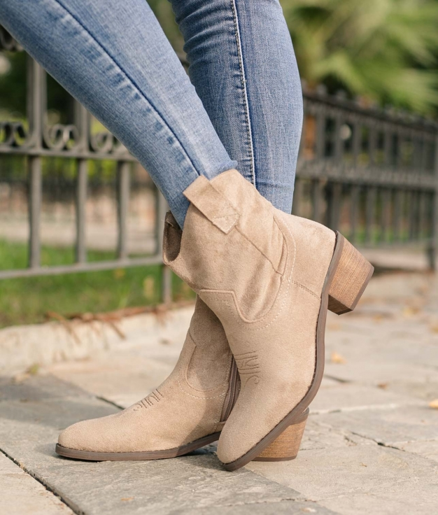 Low Boot Indal - Beige
